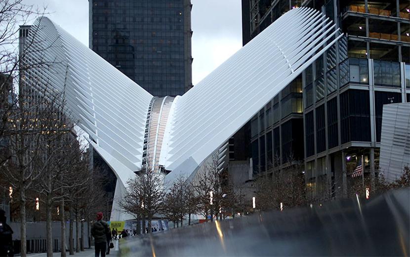 New york world trade center di calatrava viaggi di for New york architettura contemporanea