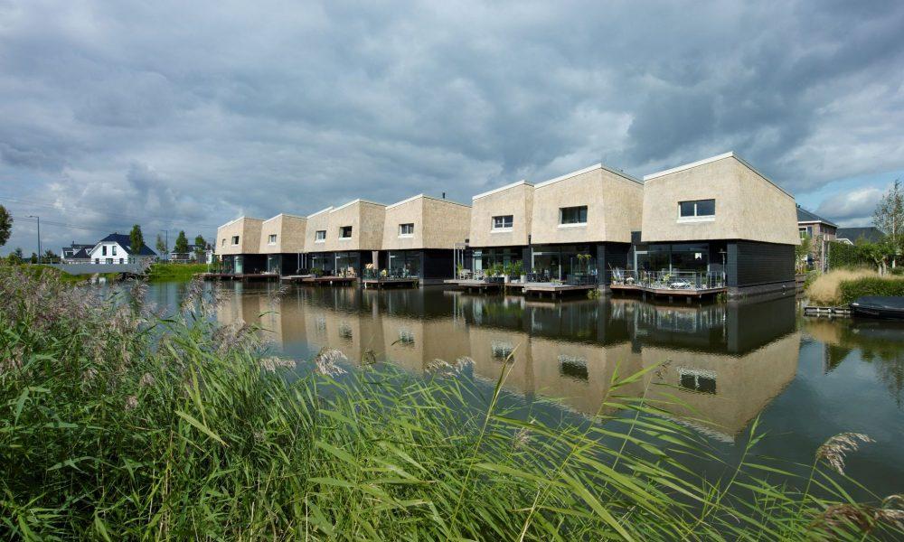 Nesselande ville sull acqua di blauw e faro viaggi di for Architettura olandese