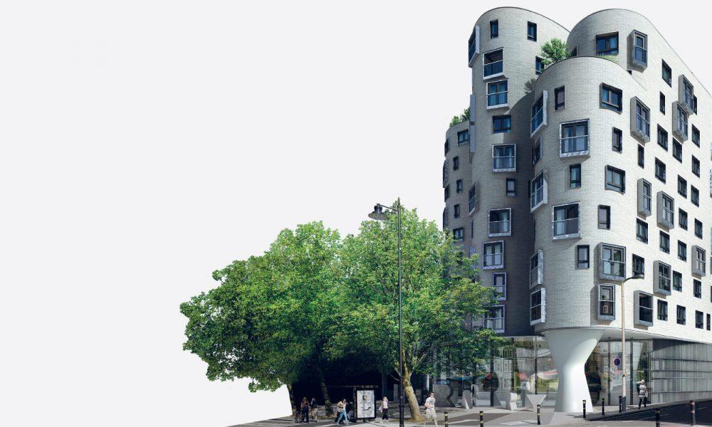 Londra clapham library dello studio egret west viaggi for Architettura moderna londra