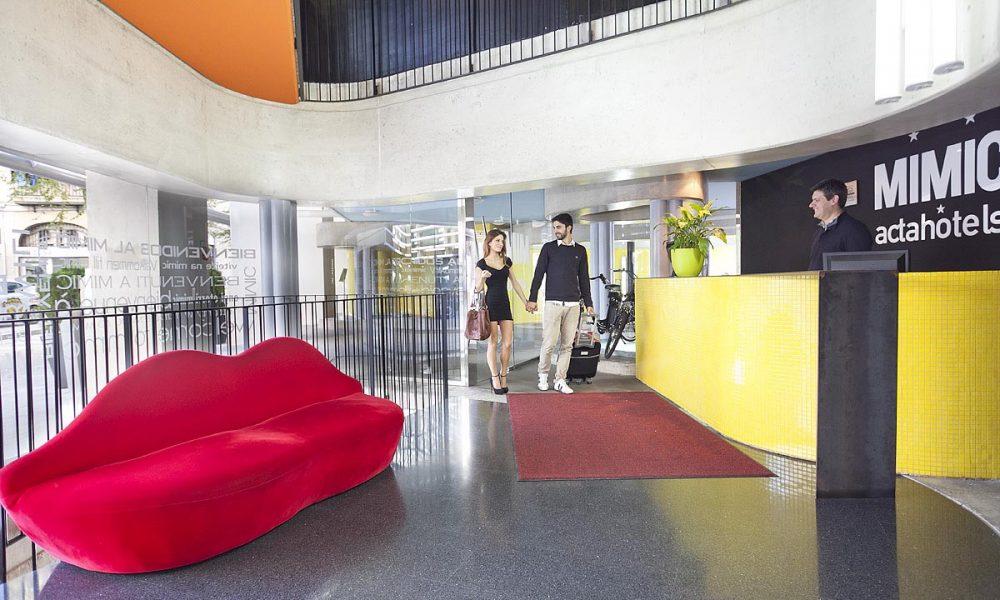 Barcellona hotel acta mimic di equip viaggi di for Hotel a barcellona 3 stelle