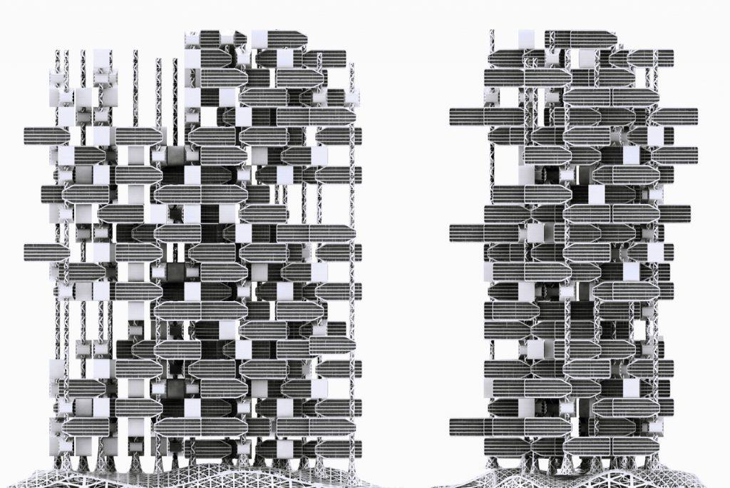 New york world of chlorophyll di iamz viaggi di for New york architettura contemporanea